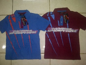 Polo Spiderman AA193 size 4,6,8,10. Seri @35500, lusinan @33500