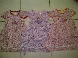 Dress Disney Princess AA301 size 4(2-3th),6(4-5th),8(6-7th),10(8-9th) @50000