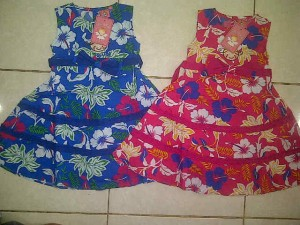 Dress Little by Little(product by Ricky Putra Globalindo) AA295 size 1,2,3 @63000