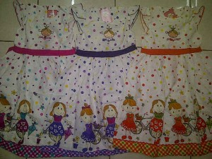 Dress Little by Little AA287 size 4,6,8,10 @69000