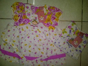 Dress Little by Little (Product by Ricky Putra Globalindo) AA305 size 1,2,3. Seri @61000, lusinan @59000