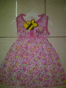 Dress Pippi(Product by Ricky Putra Globalindo)AA306 size 1,2,3. Seri 39000, lusinan @37000