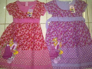 Dress Disney Princess AA313 size 4,6,8,10. Seri @66000, lusinan @64000