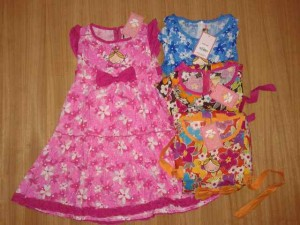 Dress Little by Little AA357 size 4,6,8,10. Seri @55000, lusinan @53000