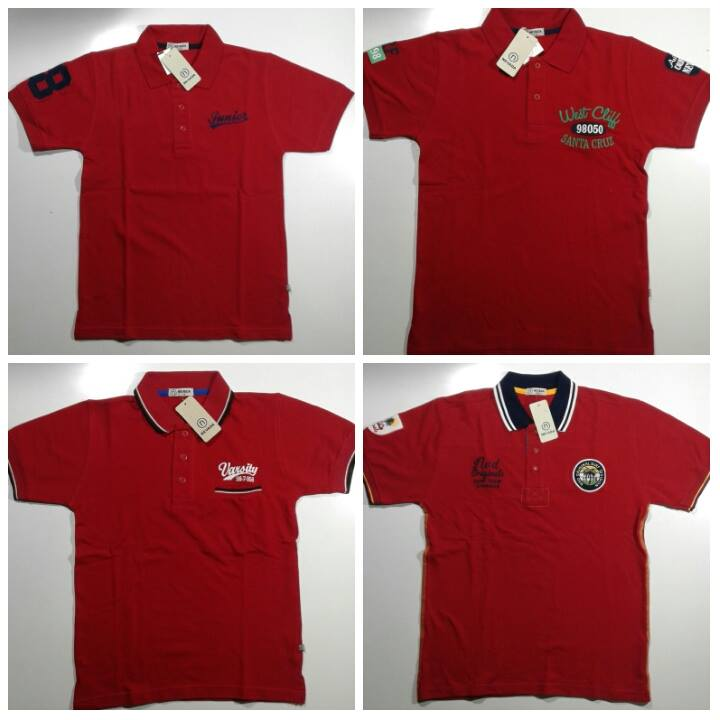 Polo nevada kids(bahan lacost) AB245 size 7-8,9-10,11-12,13-14,15-16th. Ecer 60.000 Grosir @45.000 Lusinan @42.500
